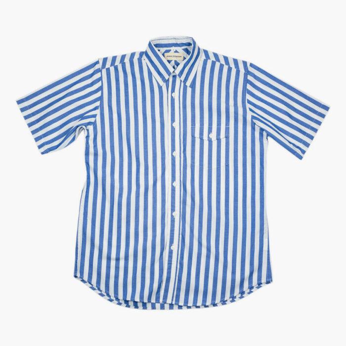 Monty Madras Short Sleeve Shirt –John Simons Ivy League Outfitters Menswear London