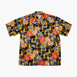 Avanti Vintage Style Aloha Shirt Black