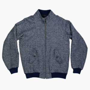 John Simons Limited Edition Made in London Blue Parquet Harrington