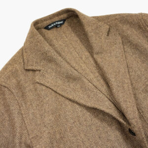 John Simons Made In London Ivy Jacket Camel Herringbone