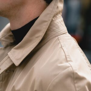 L'impermeabile Light Beige Martin Raincoat