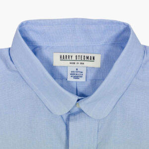 Harry Stedman Made in USA Blue End on End Club Collar