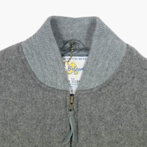 Harry Stedman x Golden Bear Varsity Jacket Grey Slim Fit