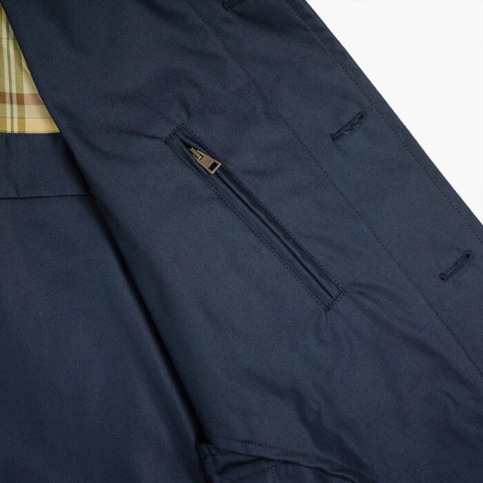 L'Impermeabile Navy Martin Raincoat