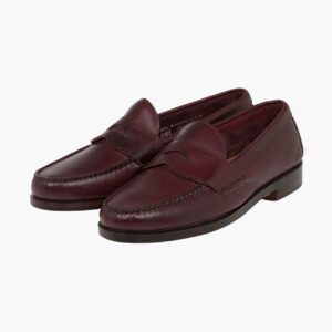 John Simons x Rancourt Loafers Burgundy Calf