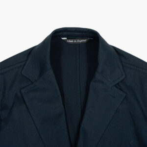 John Simons Made in London Ivy Jacket Navy Cotton