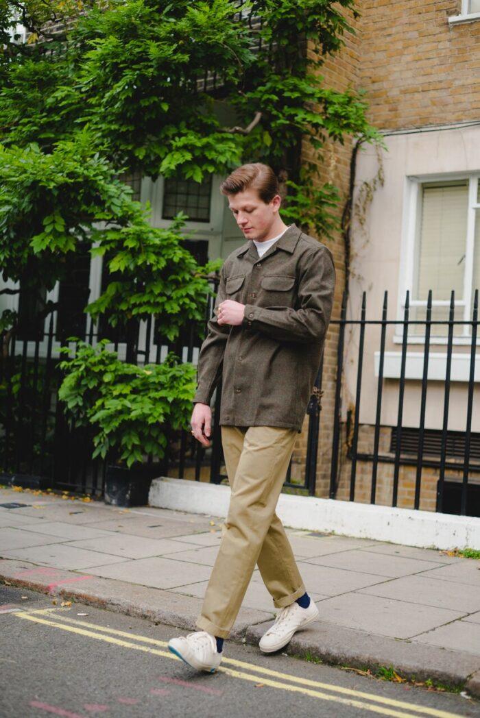 Pendelton Peat Moss Mix Solid Board Shirt