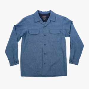 Pendelton Blue Mix Solid Board Shirt