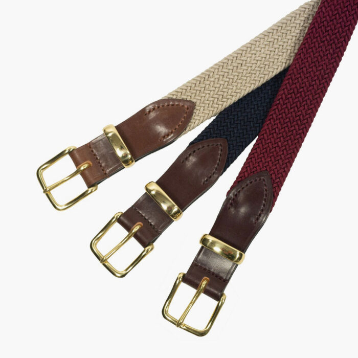 John Simons Woven Stretch Surcingle Belt
