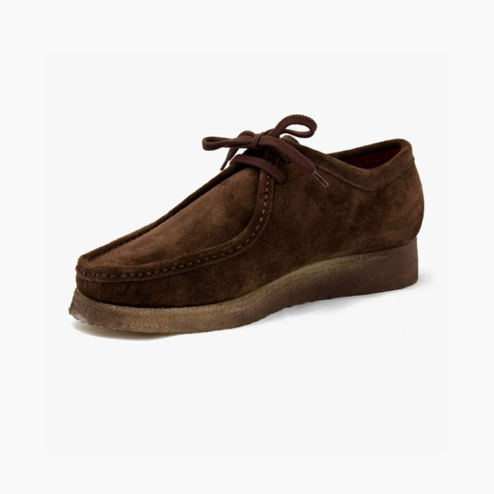 Padmore and Barnes P204 'The Original' in Brown Suede