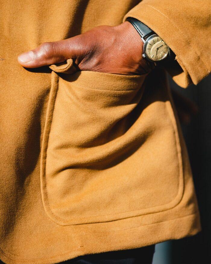 John Simons Made in London Ivy Jacket Camel Moleskin