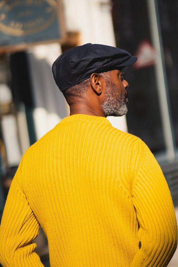 GRP Chunky Rib Knit Sweater Yellow