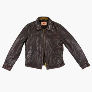 Thedi Leathers Half Belt Jacket