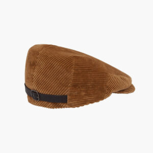 City Sport Fawn Cord Flat Cap