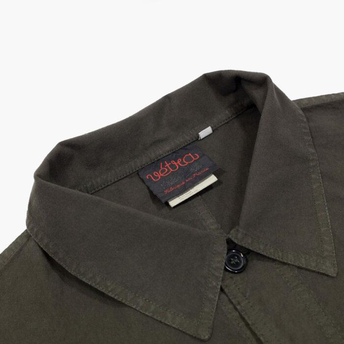 Vetra Jacket Lightweight Cotton Olive –John Simons Menswear London