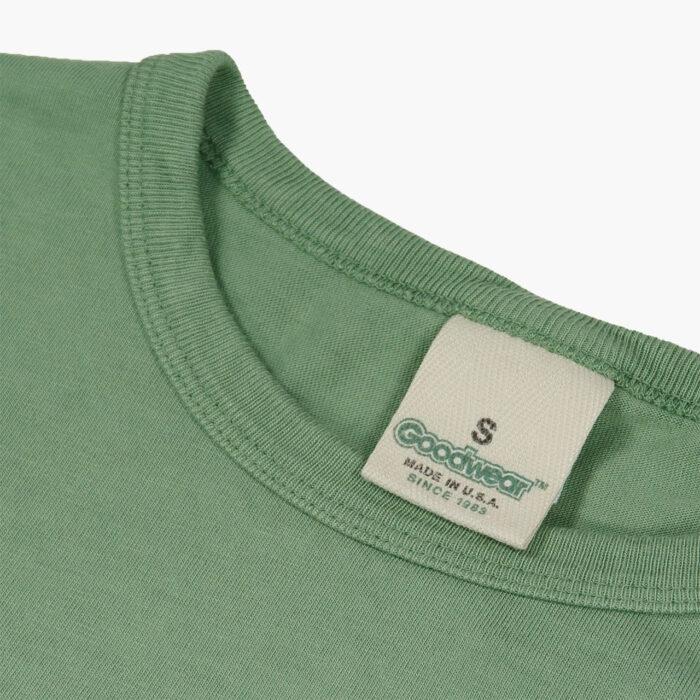 Goodwear Hemp T Shirt Green