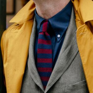 Ewen Nav/Burg tie
