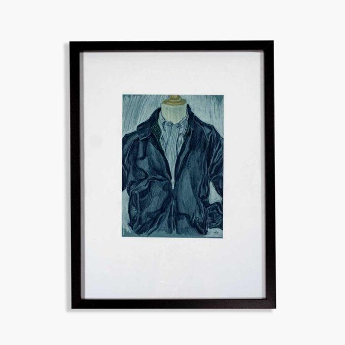 Framed Menswear Artwork –John Simons Homeware