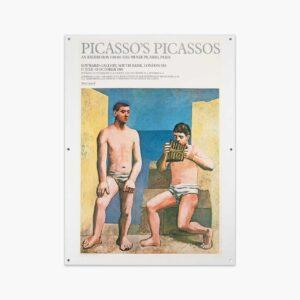 1981 Picasso's Picassos Poster –John Simons Homeware