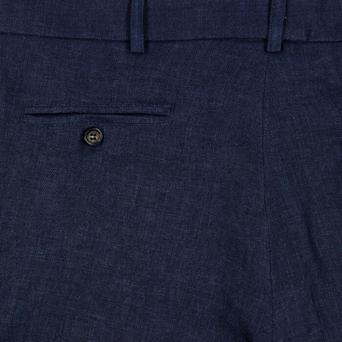 Indigo Linen Trousers 4