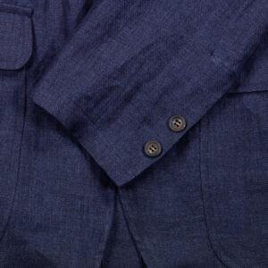 Linen Indigo Ivy Jacket 2