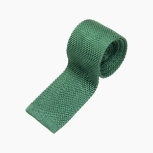 Green Silk knit 1