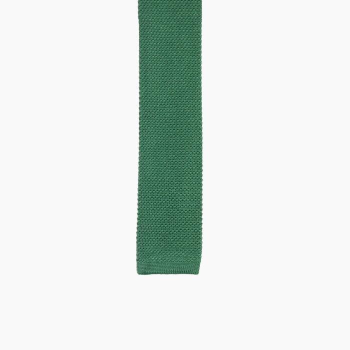 Green Silk knit 2