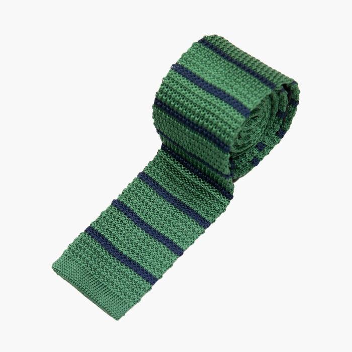 Green Navy Stripe 1
