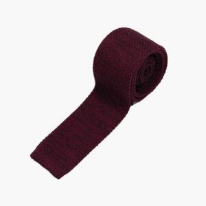 Burgundy Marled tie 1