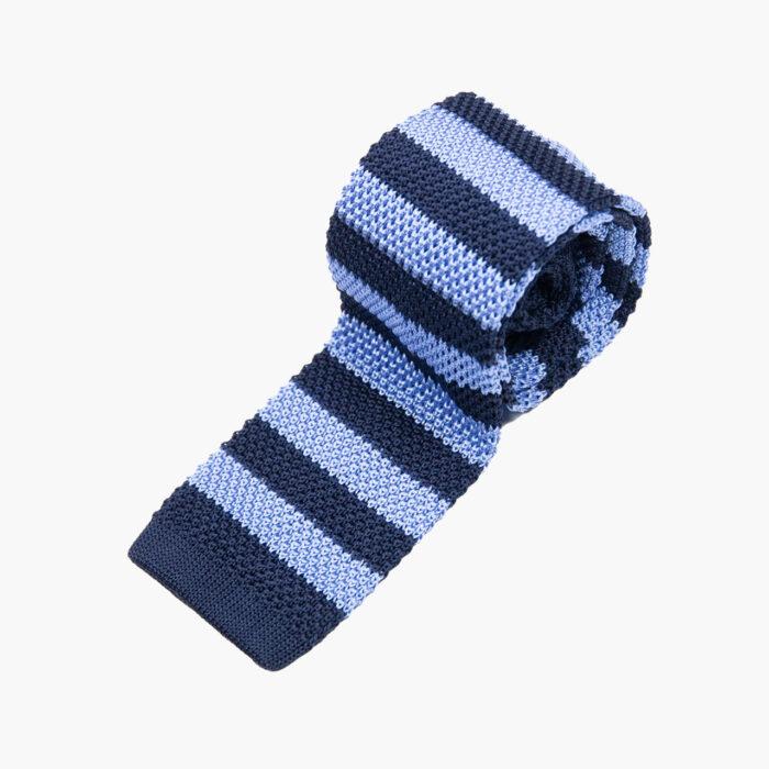Navy/Blue Stripe Tie 1