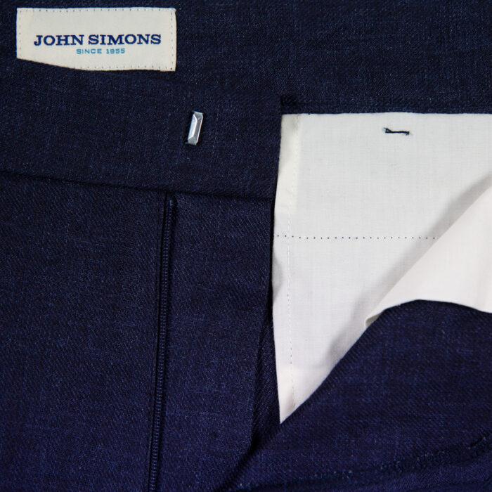 Indigo Linen Trousers 3