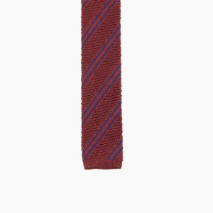 Burgundy Blue Diagonal stripe 2