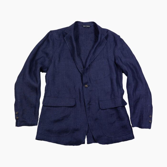 Linen Indigo Ivy Jacket 3