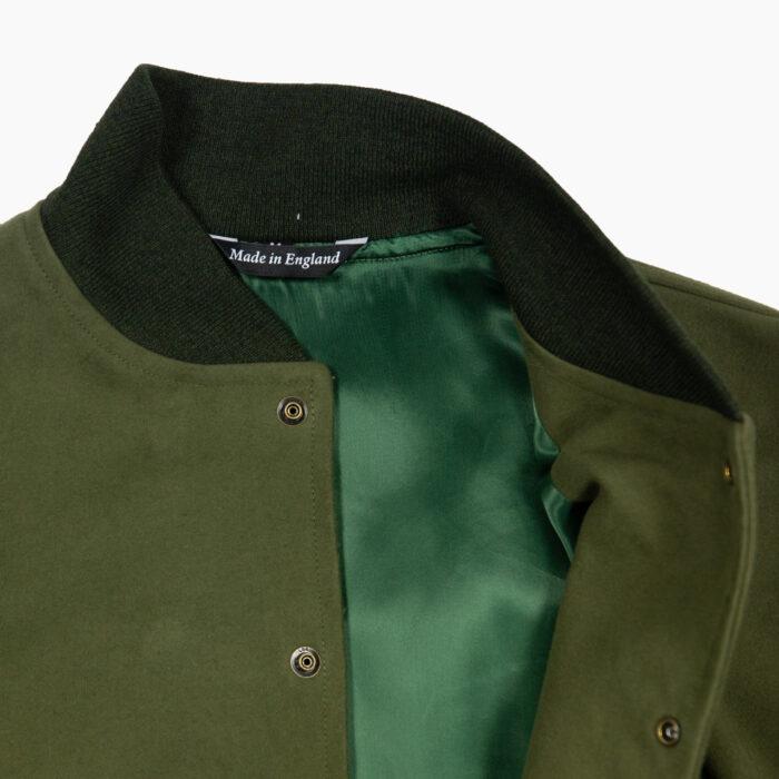 Olive Varsity Jacket 2