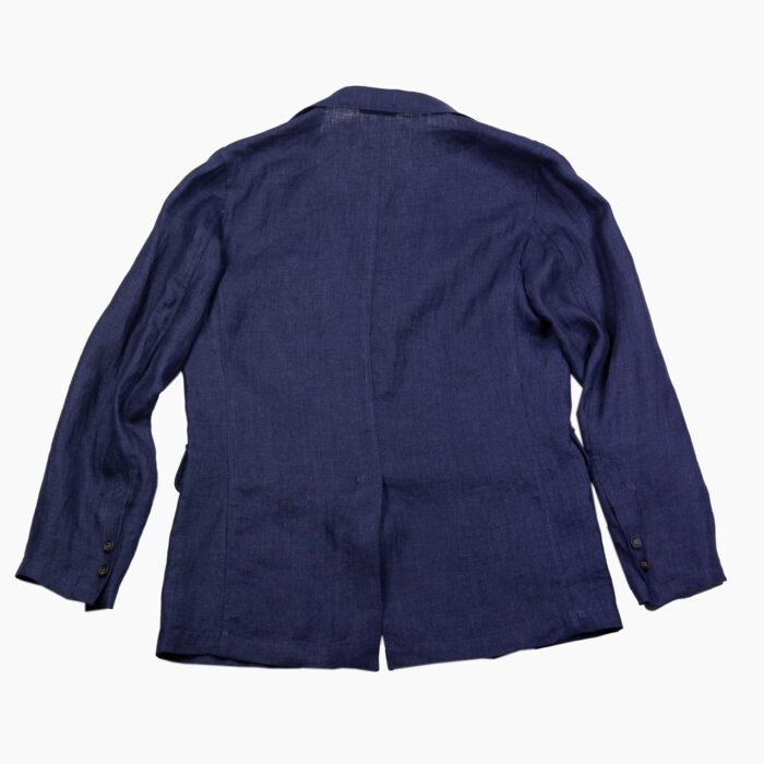 Linen Indigo Ivy Jacket 1