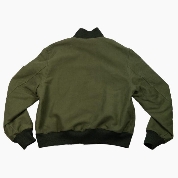 Olive Varsity Jacket 3