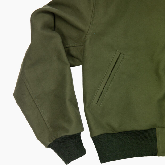 Olive Varsity Jacket 4