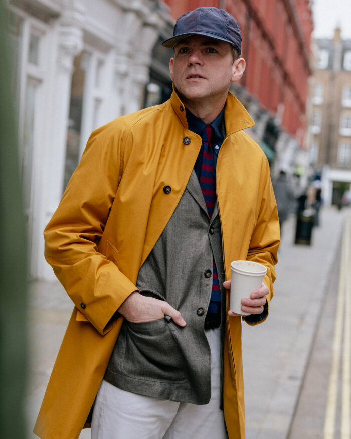 Ewen Yellow Raincoat
