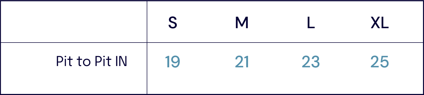 Size Charts –Goodwear -John Simons Menswear
