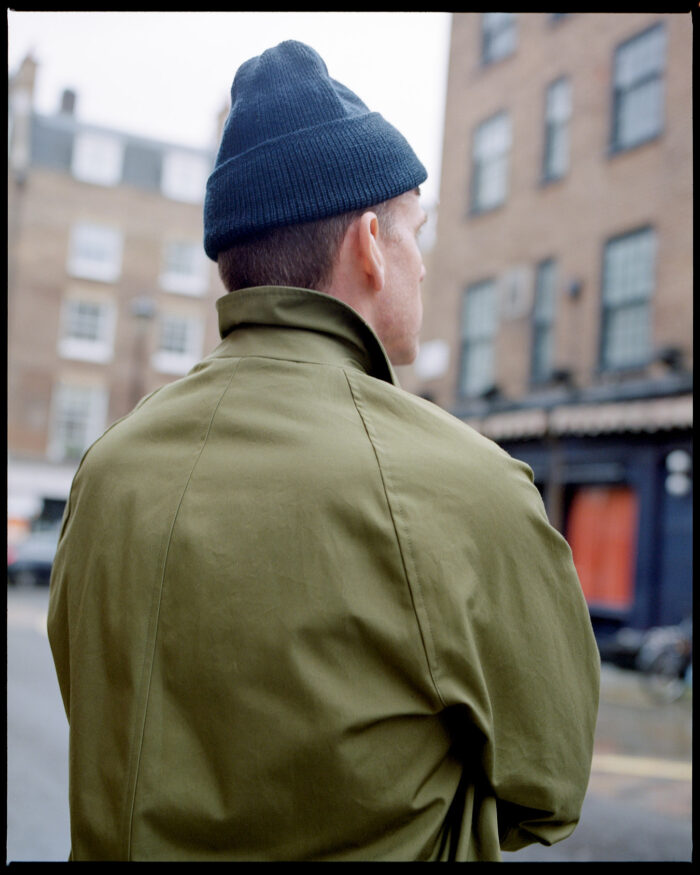 Ewen Olive Raincoat
