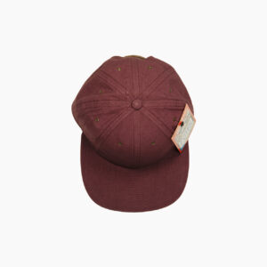 Poten Cotton/Linen Burgundy 4