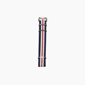 Nato Strap Red White Blue