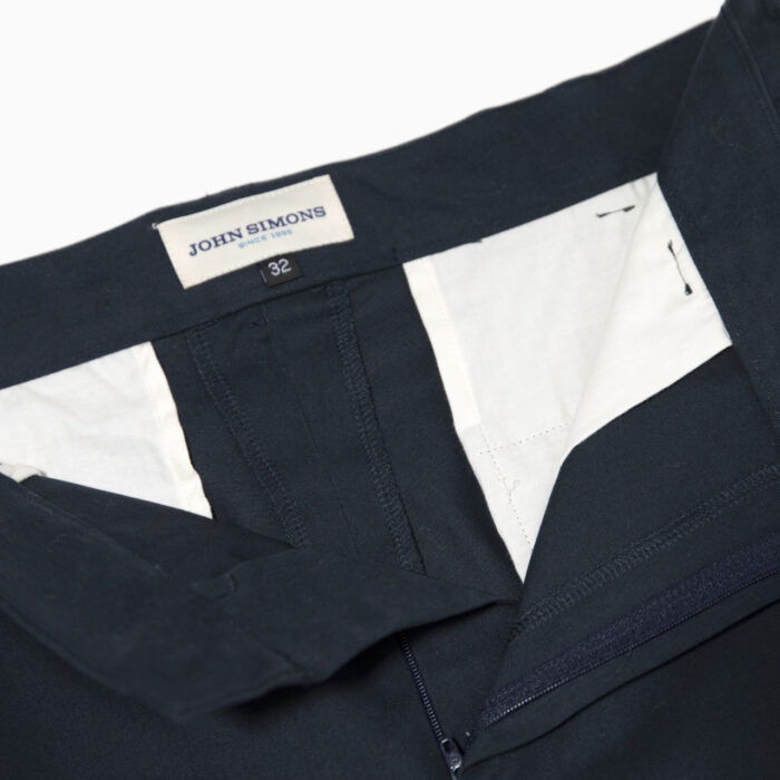 Ivy Trouser Navy cotton 2