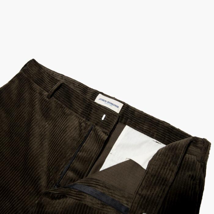 Choc Cord trouser 3