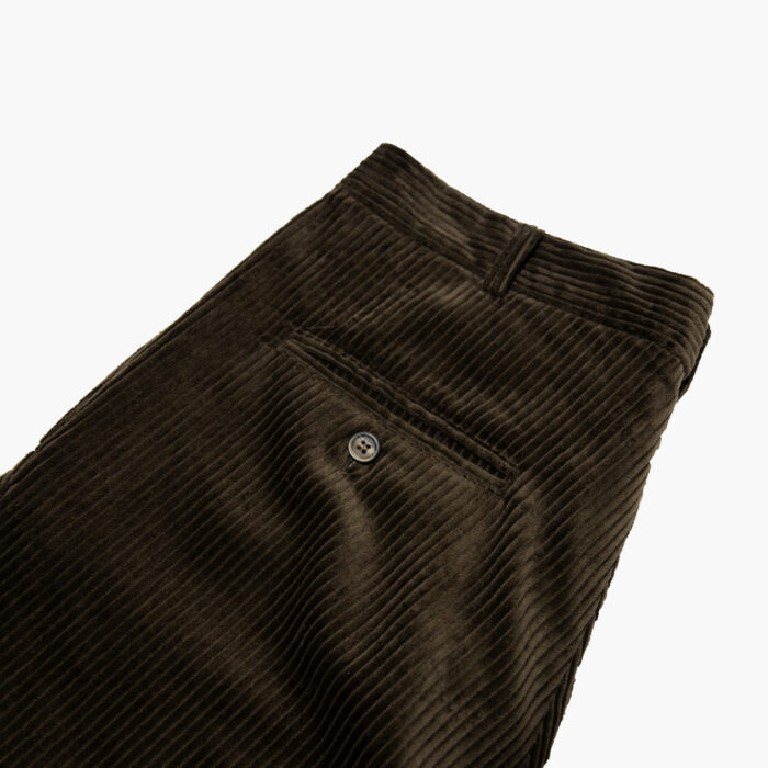 Choc Cord trouser 2