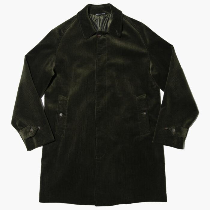 Overcoat Olive cord 1