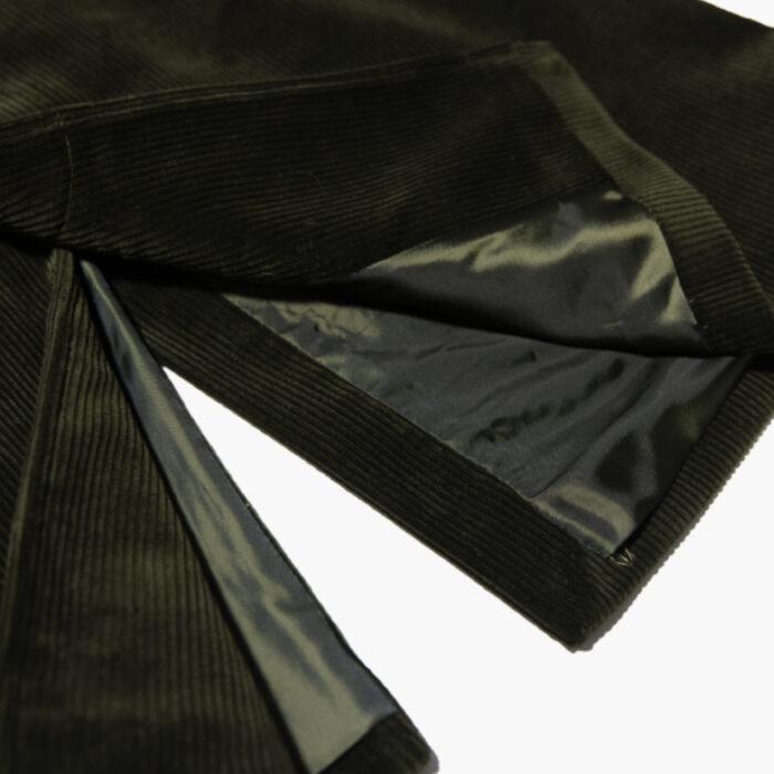 Overcoat Olive cord 2