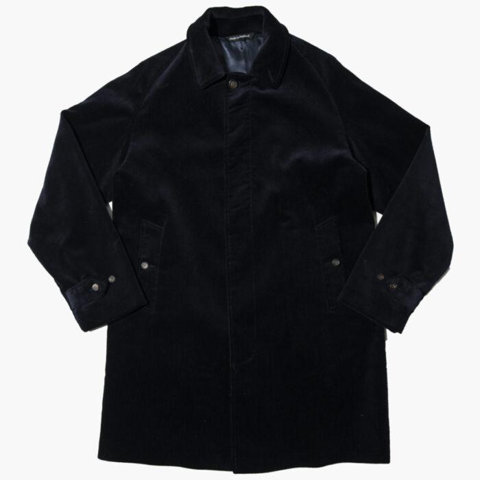 Overcoat cord navy 1