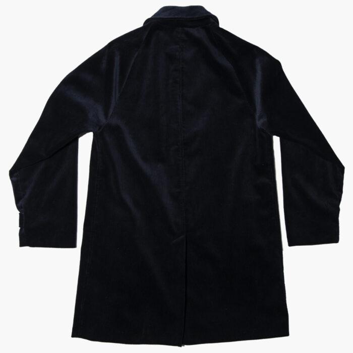 Overcoat cord navy 5