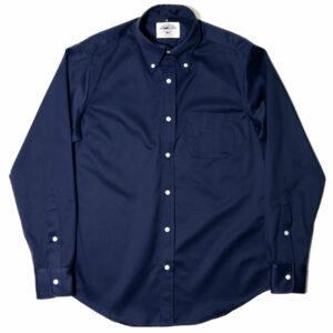 Heavy Twill Ivy Shirt - Navy 1